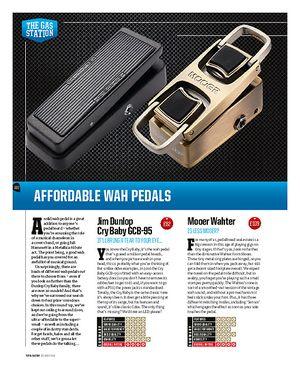 Total Guitar Affordable Wah Pedals