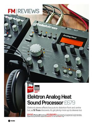 Future Music Elektron Analog Heat Sound Processor