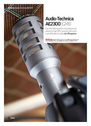 Future Music Audio-Technica AE2300