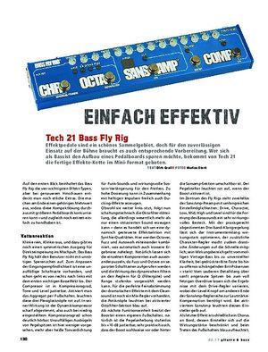 Gitarre & Bass Tech21 FlyRig Bass