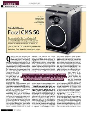 KEYS Focal CMS 50