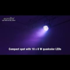 Eurolite LED PAR-64 QCL 18x8W