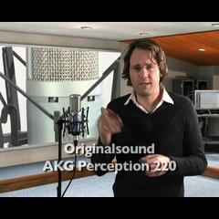 AKG Perception 220 Großmembran Kondensatormikrofon