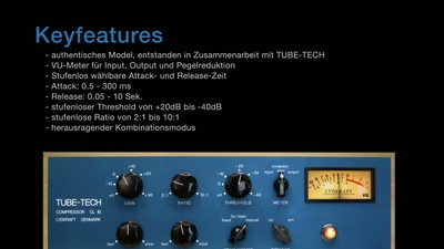Softube Tube-Tech CL 1B Kompressor Plug-in