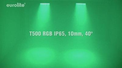 Eurolite LED T500 RGB IP65, 10mm, 20°
