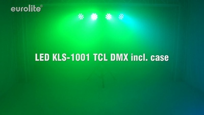 Eurolite LED KLS-1001 RGB DMX in Bundle