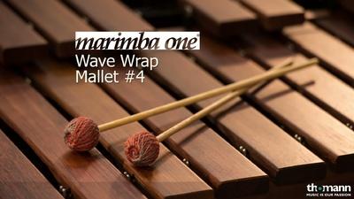 Marimba One Wave Wrap Schlägel WWR4