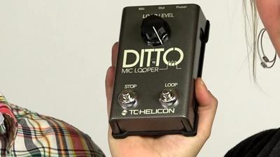 TC-Helicon Ditto Mic Looper
