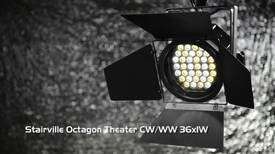 Stairville Octagon Theater CW/WW 36x1W