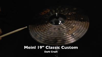 Meinl Classics Custom Serie 19 Dark Crash