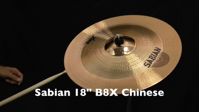 "Sabian 18"" B8X China"