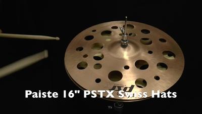 Paiste PSTX Serie 16 Swiss Hats