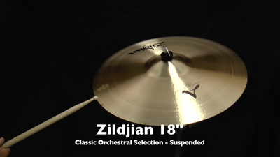 Zildjian 18 Classic Orchestral Selection