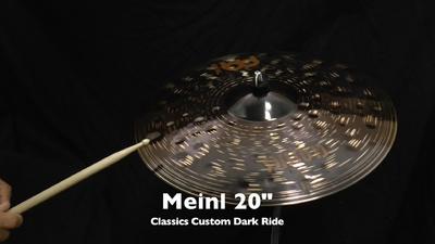 Meinl Classics Custom Serie 20 Dark Ride