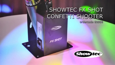 Showtec FX Shot Electric Confetti Shooter