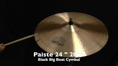 Paiste 24 2002 Black Big Beat
