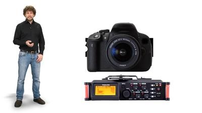 Tascam DR-70D - mobiler 4-Kanal DSLR Audiorecorder