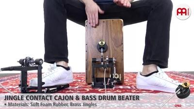 Meinl Jingle Contact Cajon + Bass Drum Beater