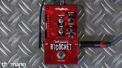Digitech Momentary Pitch Shifter Whammy Ricochet