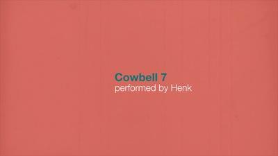 Millenium Cowbell 7
