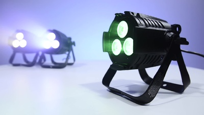 Ignition LED Mini Studio PAR RGBW 3x8W