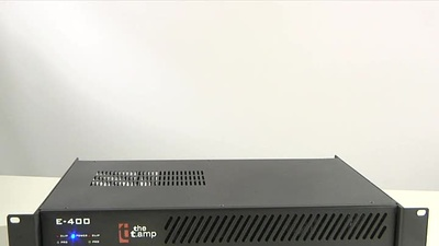 The t.amp E-400 Stereo-Endstufe