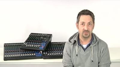 Yamaha MG-XU Serie: Mischpulte mit Effektprozessor
