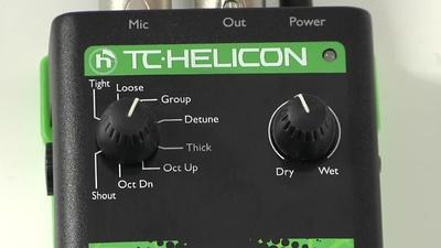 TC Voice Tone D1 Vocal-Prozessor