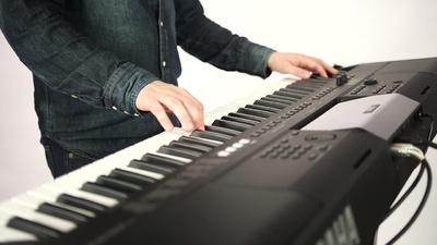 Yamaha PSR-EW400 Keyboard sound only