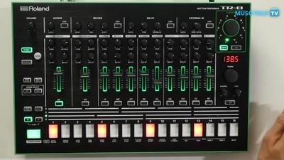 Roland TR-8: Rhythm Performer - MusoTalk.TV