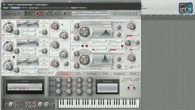 Waldorf Largo Synthesizer - MusoTalk.TV
